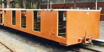 Huntley Colliery Transportation Car