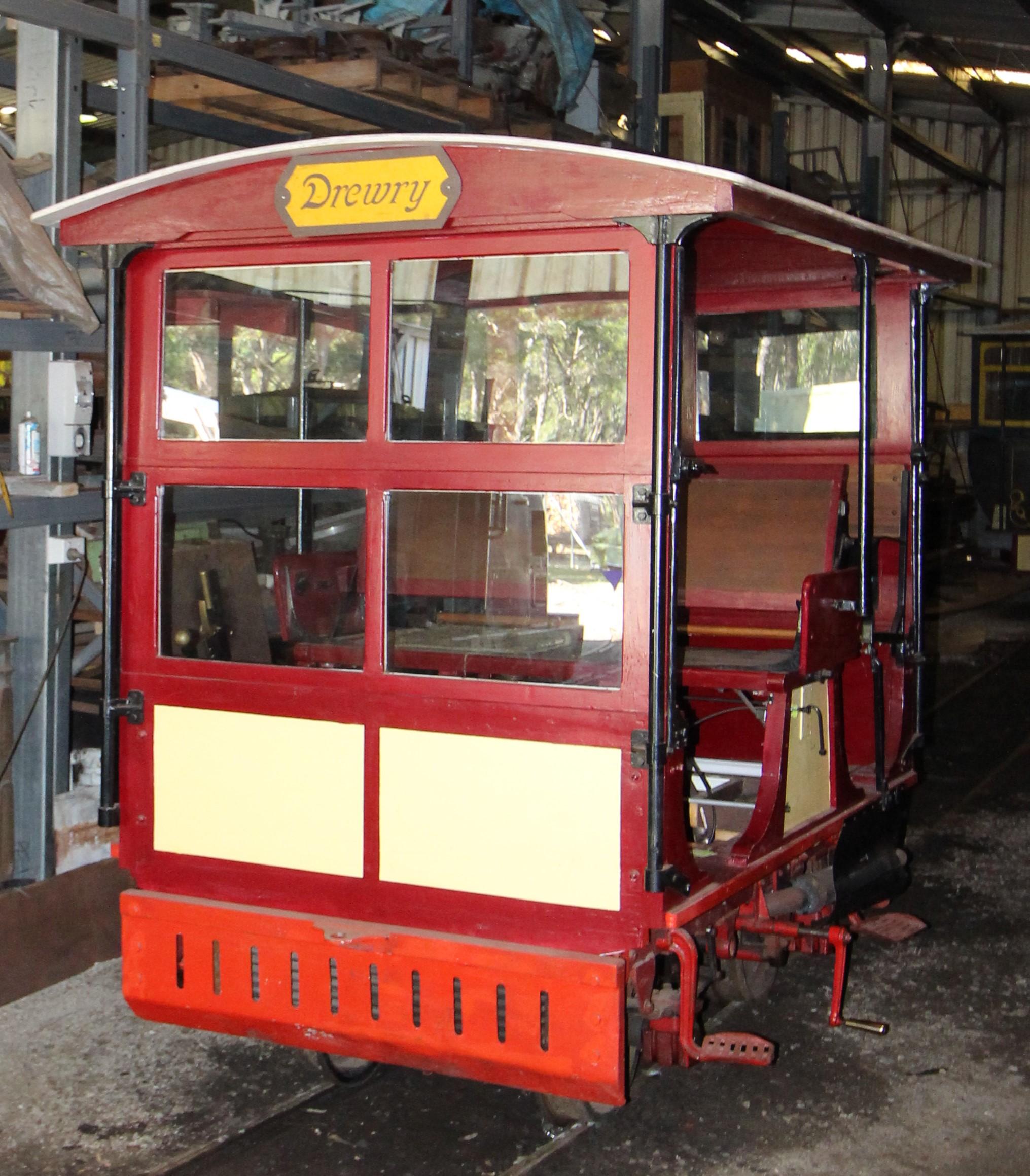 Drewry Cane Inspectors Car