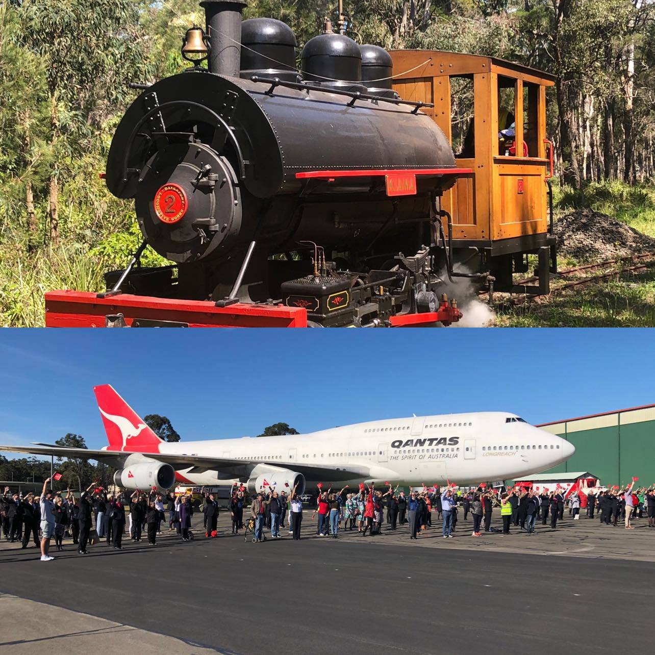 See the Museums for a Trains and Planes Sunday.